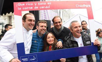 Exitosa participación de ChilePork con destacado chef Mikel Zulueta en Chancho Muerto 2019