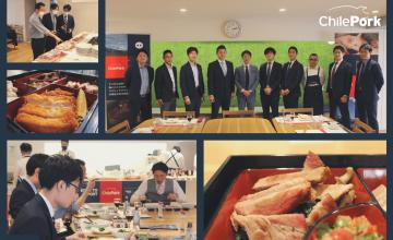 チリ豚肉輸出協会(ChilePork)日本の顧客やメディアを対象に意見交換会とクッキングショーを展開